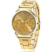 Men's Women's Wrist watch Casual Watch Chinese Quartz Metal Band Minimalist Silver Gold Rose Gold