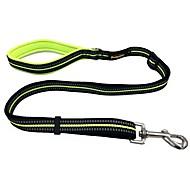 Dog Leash Reflective Solid Nylon Black Orange Green Blue