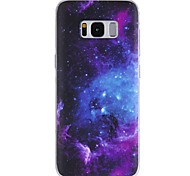 cheap -Case For Samsung Galaxy Pattern Back Cover sky Soft TPU for S8 Plus S8 S7 edge S7 S6 edge plus S6 edge S6 S6 Active S5 Mini S5 Active S5