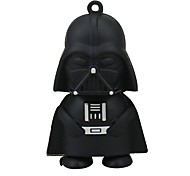 2gb black warrior usb flash drive cartoon usb 2.0 usb flash drive memória drive stick pen gift