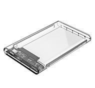 orico 2139u3 Carcasa para disco duro de 2.5 pulgadas usb 3.0 micro b - usb 3.0 micro b transparente