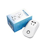 Недорогие -sonoff® s20 10a 2200w wifi беспроводной пульт дистанционного управления разъем смарт-таймер через телефон приложения с alexa