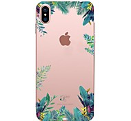cheap -Case For Apple iPhone X iPhone 8 iPhone 8 Plus Transparent Pattern Back Cover Tree Soft TPU for iPhone X iPhone 8 Plus iPhone 8 iPhone 7