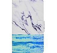 marmor muster kartenhalter mit stand flip magnetische pu ledertasche für samsung galaxy tab a 7,0 t280 t285 7,0 zoll tablet pc