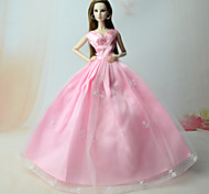 Dresses Dresses For Barbie Doll Pink Dresses For Girl's Doll Toy