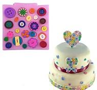 кнопка формы силиконовый торт формы конфеты печенье шоколад сахар ремесло кружева выпечки плесень