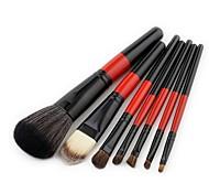 Недорогие -7 шт профессиональный Кисти для макияжа Наборы кистей / Щетка контура / Кисть для основы Синтетические волосы / Кисть их волоса пони