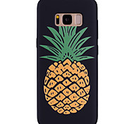abordables -Funda Para Samsung Galaxy Diseños Funda Trasera Fruta Suave Silicona para S8 Plus S8 S7 edge S7 S6 edge S6