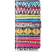 Недорогие -Кейс для Назначение SSamsung Galaxy S8 Plus S8 Бумажник для карт Кошелек со стендом Флип С узором Чехол Полосы / волосы Твердый Кожа PU