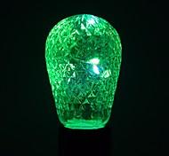 cheap -1 pc 1W E27 LED Globe Bulbs 12 leds SMD Decorative Warm White Cold White Blue Green 100-200lm 2800-3200/6000-6500K AC85-265V