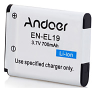 Andoer EN-EL19 Rechargeable Replacement Camera Camcorder Li-ion Lithium Battery for Nikon S32 S33 S7000 S6900 S6800 S3700 S2900 S2500 S4100 S3100