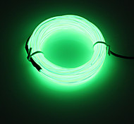 BRELONG 5m DC12V EL 12V LED Strip Light Round line - POWER SUPPLY