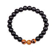 cheap -Unisex Obsidian Strand Bracelet - Colorful Bracelet Black / Brown / Green For Gift / Going out