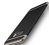 Недорогие -Кейс для Назначение SSamsung Galaxy S8 Plus S8 Защита от удара Ультратонкий Задняя крышка Сплошной цвет Твердый PC для S8 S8 Plus S7 edge