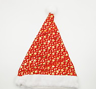 Недорогие -звезда и луна горячего тиснения рождественская шляпа рождественский орнамент