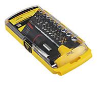 Teléfono móvil Kit de herramientas de reparación 46 en 1 Extensión para destornillador Destornillador Herramientas de Recambio