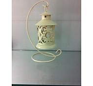 baratos -1 pc estilo europeu vintage ferro arte decoração vela vela decoração