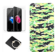cheap -Case For Apple iPhone 8 iPhone 8 Plus Pattern Back Cover Lines / Waves Soft Silicone for iPhone 8 Plus iPhone 8 iPhone 7 Plus iPhone 7