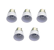 cheap -B22 to E14 Quick Bulb Converter Bulb Accessory 5Pcs