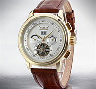 Men's Casual Watch Fashion Watch Dress Watch Wrist watch Automatic self-winding Calendar Stainless Steel Leather Band Casual Cool