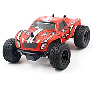 RC Auto K24-2 2.4G Truggy High-Speed 4WD Treibwagen Buggy SUV Monster Truck Bigfoot Rennauto 1:24 Bürster Elektromotor 45 KM / H