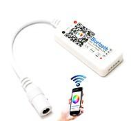 baratos -1pcs levou rgb controlador máximo 192w mini bluetooth 4.0 rgbw para rgbw led strip wireless ios controle de aplicativo de android dc12-24v