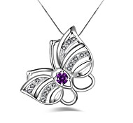 Women's Pendant Necklaces Silver Plated Pendant Necklaces , Simple Fashion Gift Date