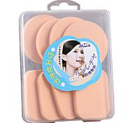 cheap -8 pcs Powder Puff Sponge Round Quadrate Women Face Natural Daily Makeup