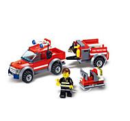 Недорогие -Конструкторы Пожарная машина Игрушки Транспорт Мальчики 143 Куски
