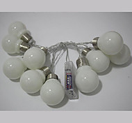 cheap -String Lights 10 LEDs Warm White Multi Color Simple Battery