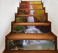Недорогие -Цветочные мотивы/ботанический Пейзаж 3D Наклейки Корпус Простые наклейки 3D наклейки Декоративные наклейки на стены Свадебные наклейки,