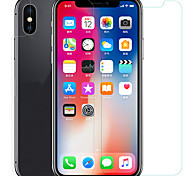 Screen Protector for Apple iPhone X Tempered Glass PET 1 pc Front & Back Protector High Definition (HD) 9H Hardness 2.5D Curved edge
