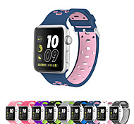 Ремешок для часов для Apple Watch Series 3 / 2 / 1 Apple Повязка на запястье Спортивный ремешок Силикагель