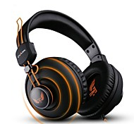 cheap -OVANN X7 Professional Gaming Headsets - BLACK AND ORANGE