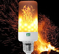 YWXLight® 1pc E27 B22 E12 E14 Flame Flickering Breathing 3 Modes Halloween Decoration LED Lights Bulb AC 85-265V