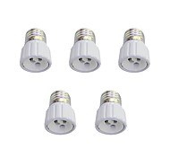 E27 to GU10 Quick Bulb Converter Bulb Accessory 5Pcs