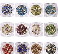 abordables -1 Bijoux à ongles Cristal Mode Haute qualité Quotidien