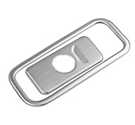 Automotive Glove Box Switch Cover DIY Car Interiors For Jeep All years Cherokee Stailess steel
