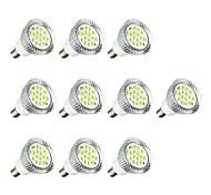 Недорогие -10 шт. 5W E14 Точечное LED освещение E14 / E12 16 светодиоды SMD 5630 Светодиодные фонарики Белый 380lm 3000-3500/6000-6500K AC 85-265V