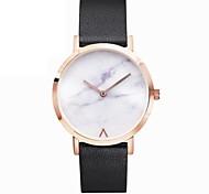 Herrn Damen Modeuhr Armbanduhr Einzigartige kreative Uhr Chinesisch Quartz Chronograph Edelstahl Leder Band Cool Elegant Minimalistisch