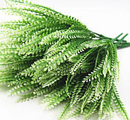 35cm 5 шт. 7 вилок / ветка pteris зеленая трава домашнее украшение искусственные цветы