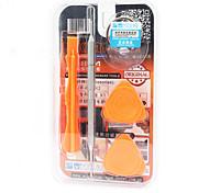 Teléfono móvil Kit de herramientas de reparación 5 en 1 Destornillador Ventosa Plástico / acero Stianless Pry Herramientas de Recambio