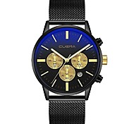 cheap -Men's Unique Creative Watch Dress Watch Casual Watch Chinese Quartz Calendar / date / day Chronograph Water Resistant / Water Proof