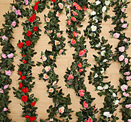 1 Branch Silk Others Roses Plants Tabletop Flower Artificial Flowers