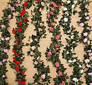 Недорогие -1 Филиал Шелк Другое Розы Pастений Букеты на стол Искусственные Цветы