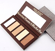 cheap -5 Concealer/Contour Pressed Powder Matte Mineral Whitening Oil-control Long Lasting Natural Cruelty Free Alcohol Free