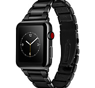 Ремешок для часов для Apple Watch Series 3 / 2 / 1 Apple Повязка на запястье Бабочка Пряжка Нержавеющая сталь