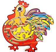baratos -Brinquedos Magnéticos Labirintos Magnéticos Antiestresse Avião Galinha Escola Magnética Madeira Esportes Amigos Padrão Crianças