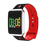 cheap -Smart Bracelet TF1 for Android 4.4 / iOS Vibrating / Blood Pressure Measurement / Multi-functional Remote Control / Activity Tracker /
