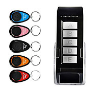 cheap -5 in 1 Wireless Anti-lost Key Finder Locator Alarm Keychain 40m